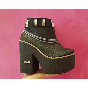 Zapatos Mujer Plataforma Invierno - Otros Zapatos en Mercado Libre ... 97e3887b6baf