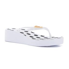 Anabela Estampada White - R8015445033