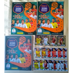 Coleção Incompleta Adrenalyn Road To Russia 2018 C/ 165 Card