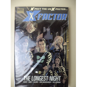 Importado Hq X-factor The Longest Night Em Inglês
