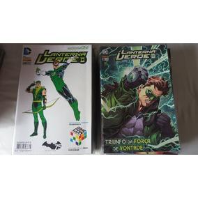 Coleção Lanterna Verde Novos 52 + Anual
