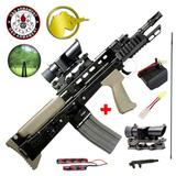 Marcadora Airsoft Rifle Asalto G&g L85 Afv Electrica + Mira