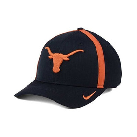 Nike Texas Longhorns Ncaa Gorra Aerobill Negra Ajust Dri-fit 065ec4f147e
