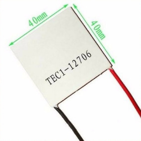 Pastilha Placa Termoelétrica Peltier Tec1-12706 Tec1 12706