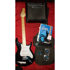 Guitarra Behringer Con Amplificador
