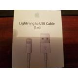 Original Cable De Conector Lightning A Usb Cargador Para Iph