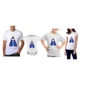 Kit 6 Pç Camisas Personalizadas Família
