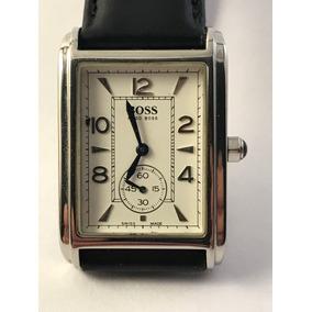 92d7e54c46a Relógio Hugo Boss Masculino Couro Preto 1513129 Hu00001711 ...