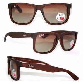 culos De Sol Ray Ban 1221 Marrom Perola Lente Cinza Round - Óculos ... 498159b8fc