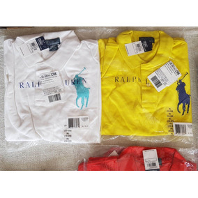 b6a950231ccab Camisa Polo Ralph Lauren - Pólos Manga Curta Masculinas no Mercado ...