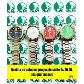 febcec84379 Relogios De Preço De Custo - Relógios no Mercado Livre Brasil