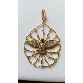 Medalha Do Divino Espirito Santo Em Ouro 18k 750 - Joias e ... a240f93ea6