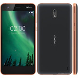 Nokia 2 Android Lte Pant. 5 Hd 8+1ram 8+5mpx Negro