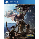 Monster Hunter World Ps4 Digital Gcp