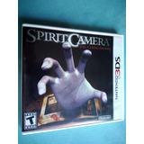 Spirit Camera The Cursed Memoir 3ds - 100% Ok, Americano
