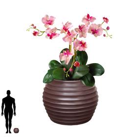 1 Vaso Decorar Sala Jantar Mesa Cadeira 4 6 Madeira B 15x20