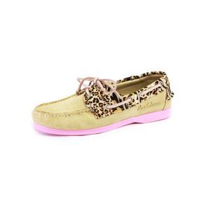 Zapatos Nauticos Mocasines Peskdores Leopardo Le00012