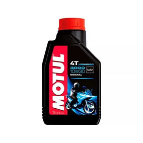 Oleo Motul 10w30 3000 4t Mineral Alta Performance 4 Litro