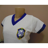 2df93eeab4 Camisa Selecao Brasileira Feminina Azul - Camisa Brasil no Mercado ...