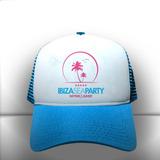 Boné Ibiza Sea Party Azul Claro Branco Trucker Frete Grátis c1e0b0a335573