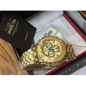 06a3931443f Ouro Nu Quartzo - Relógio Invicta Masculino no Mercado Livre Brasil