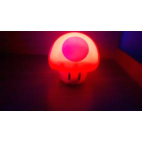 Abajur Super Mario Mushroom Light