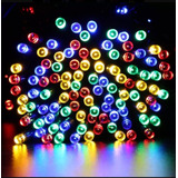 Series Solares Calidas Y Colores $299.00 12mts 100 Luces Led