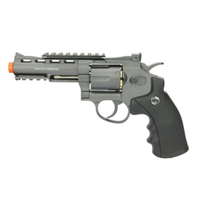 Revolver 38 Airsoft Co2 6 Tiros 4 Rossi Full Metal 6.0