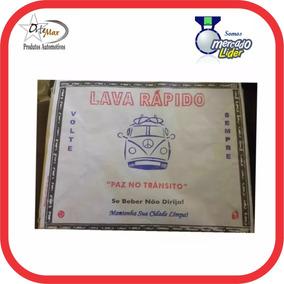 Tapete Papel P/lava Rápido 10 Kgs ( 2 Un. Frete Gratis )