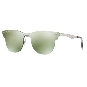 5f97695e8fba2 Oculos Sol Ray Ban Blaze Clubmaster Rb3576n 042 30 47mm Prat