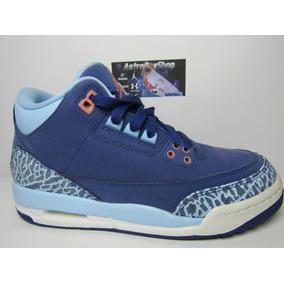Jordan 3 Purple Dust Kids Edition (23.5 Mex) Astroboyshop