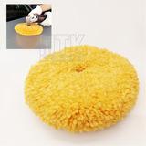 Boina De Lã Dupla Face Amarela 8   Para Polimento Macia. R  60 b4ec77452a0