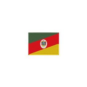 Bandeira Bordada Termocolante - Rio Grande Do Sul
