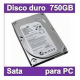 Disco Duro Sata 750gb, Envío A Todo El Pais
