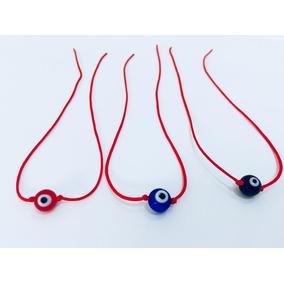 Hilo Rojo Protección Ojo Turco Rojo Azul 4, 6 Y 8mm C/una