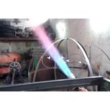 Quemador De 3 Pulgadas A Gas Lp Alto Poder Calorífico. M_g