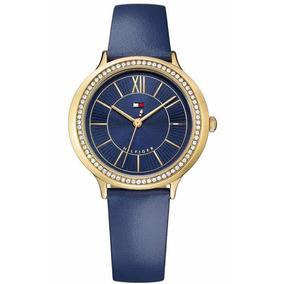 9bfb1e39d0e Relogio Tommy Hilfiger Feminino Couro Branco - Relógios no Mercado ...