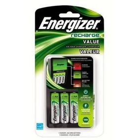 Energizer Cargador Inteligente + 4 Pilas Recargables