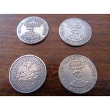 Pack Réplicas Monedas Chilenas Pesos Volcán Envío Gratis