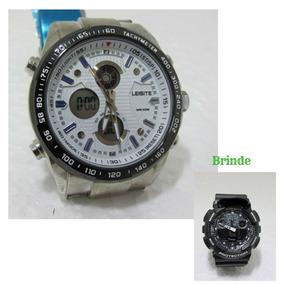 168fc2feaea Relógio Digital Masculino Combo + Brinde Relógio Digital Aut
