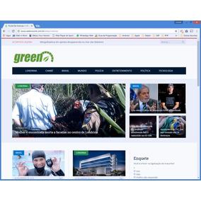 Script Php Portal De Notícias Site Responsivo