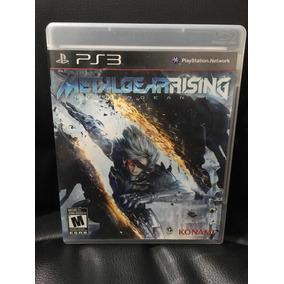 Metal Gear Rising Ps3 Mídia Física Usado