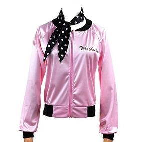 50 X26 39 S Costume Party Pink Satin Ladies Jacket Adulto Bu 1564503c967b2