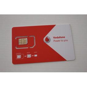 10 Chips Vodafone M2m Ilimitado Para Rastreadores E Alarmes