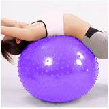 Pelota Yoga Pilates Con Puas Para Terapias 65cm Con Inflador 1991c22481c5