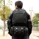 Mochila Backpack Táctica Militar Campismo Escolar Molle 50lt
