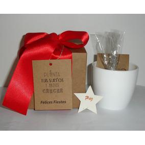 Souvenir Regalo Para Navidad Original, Kit De Plantación