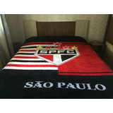 Cobertor Manta São Paulo Casal Antialérgico