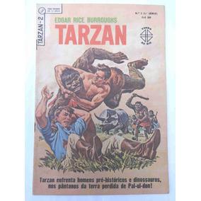 Tarzan Nº 2 - 3ª Série - O Pântano Dos Pavores - Ebal - 1965