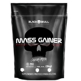 Hipercalorico Mass Gainer 3kg (refil) - Black Skull